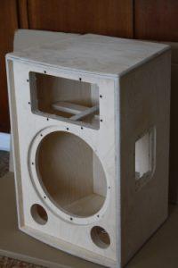 Lautsprecherbau - Lautsprechergehäuse aus Multiplex