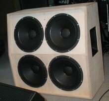 4x 12 Zoll Gitarrenbox Gehäuse Multiplex